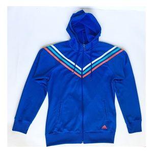 Adidas Blue Sweatshirt Hoodie